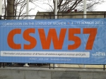 WILPF Australia attended the 57th Commission on the Status of Women in New York in March 2013